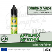 SC Vape Base • Apfelmix Menthol | 50ml