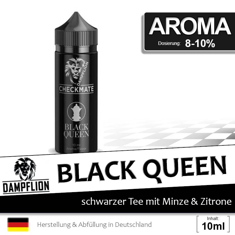 Dampflion Checkmate - Black Queen