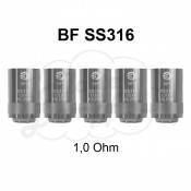 BF SS316 Coils 1,0 Ohm