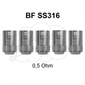 BF SS316 Coils 0,5 Ohm