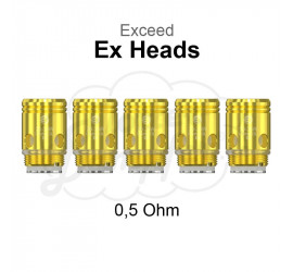 Ex Heads 0,5 Ohm