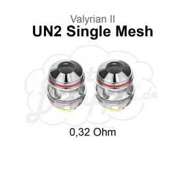 Valyrian II UN2 Single Mesh Coils
