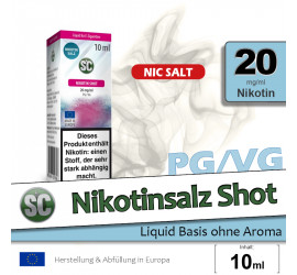 SC Nikotinsalz Shot (20mg/ml)