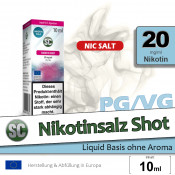 Nikotinsalz Shot | Base • 20mg/ml Nikotin