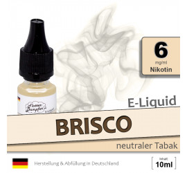 BRISCO | Tabak Liquid • 6mg/ml Nikotin