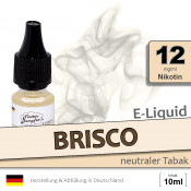 BRISCO | Tabak Liquid • 12mg/ml Nikotin