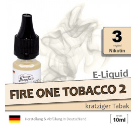 E-Liquid Fire One Tobacco 2 (light 3)