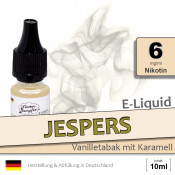 Jespers Vanilletabak Liquid • 6mg/ml Nikotin