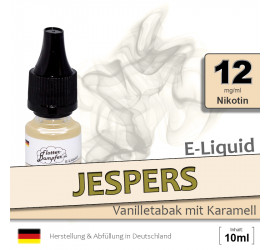 Jespers | Vanilletabak Liquid • 12mg/ml Nikotin
