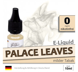 Palace Leaves | Tabak E-Liquid • ohne Nikotin