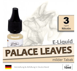 Palace Leaves | Tabak Liquid • 3mg/ml Nikotin