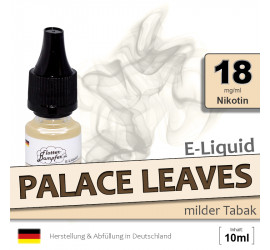 Palace Leaves | Tabak E-Liquid • 18mg/ml Nikotin