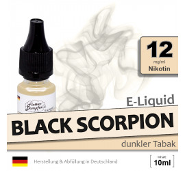 E-Liquid Black Scorpion (medium 12)