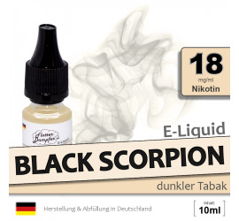 E-Liquid Black Scorpion (high 18)