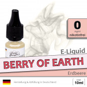 E-Liquid Berry of Earth Erdbeer (zero 0)
