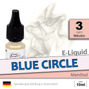 Blue Circle | Menthol E Liquid • 3mg/ml Nikotin