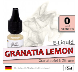 E-Liquid Granatia Lemon (zero 0)