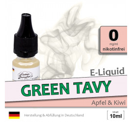 E-Liquid Green Tavy (zero 0)