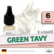 E-Liquid Green Tavy (low 6)