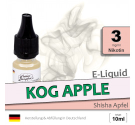 E-Liquid Kog Apple (light 3)