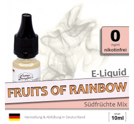 E-Liquid Fruits of Rainbow (zero 0)