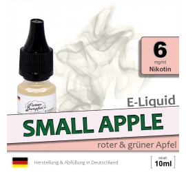 E-Liquid Small Apple - Apfel (low 6)