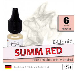E-Liquid Summ Red (low 6)
