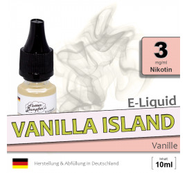 E-Liquid Vanilla Island (light 3)