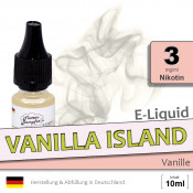 Vanilla Island Liquid • 3mg/ml Nikotin