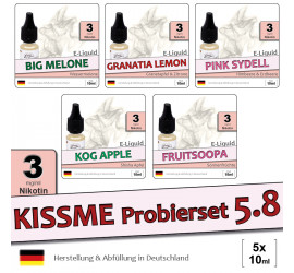 Frucht E-Liquid Probierset 5.8 (light 3)