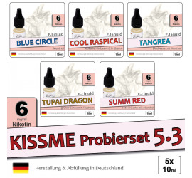 Menthol Liquid Probierset 5.3 (low 6)