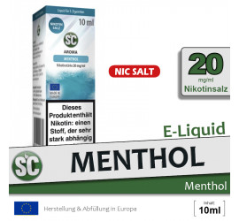 SC Menthol NS Liquid (high 20)