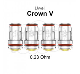 Uwell Crown 5 Coils UN2 0,23 Ohm