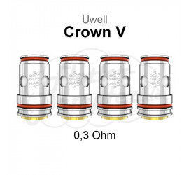 Uwell Crown 5 Coils UN2-2 0,3 Ohm