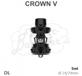Uwell Crown 5 Clearomizer (schwarz)