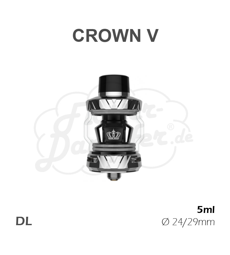 Uwell Crown 5 Clearomizer (silber)
