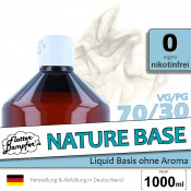 Nature Base 70/30 | 1 Liter • ohne Nikotin