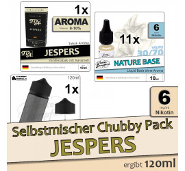 Selbstmischer Pack: Jespers Chubby (low)