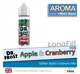 Dr. Frost Apple Cranberry Ice Aroma 14ml