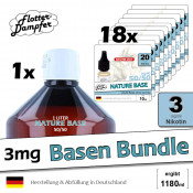 3mg Basen Bundle • 1180ml