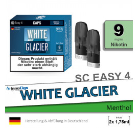 SC Easy 4 Caps White Glacier (9mg)