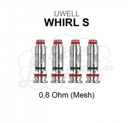 Whirl S Coils 0,8 Ohm