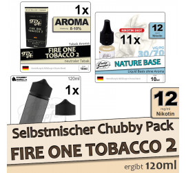 Selbstmischer Pack: Fire One Tobacco 2 (medium)