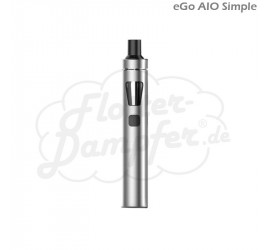 eGo AIO Simple Starterset (silber)