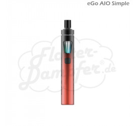 eGo AIO Simple Starterset (rot)
