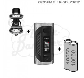 Crown V Rigel 230W Starterset (silber)