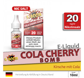 K-Boom Cola Cherry NS Liquid (high 20)