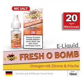 K-Boom Fresh O Bomb NS Liquid (high 20)