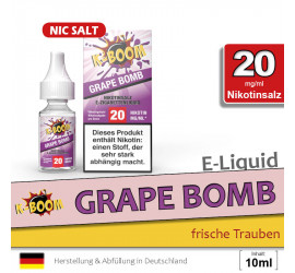 K-Boom Grape Bomb NS Liquid (high 20)