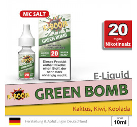 K-Boom Green Bomb NS Liquid (high 20)